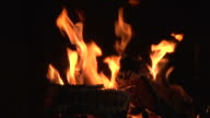 fire 006 720p24 with audio SEAMLESS LOOP video