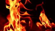 Fire and smoke video