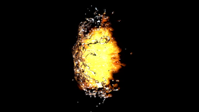Fire and Water Collision video