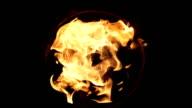 fire burst video