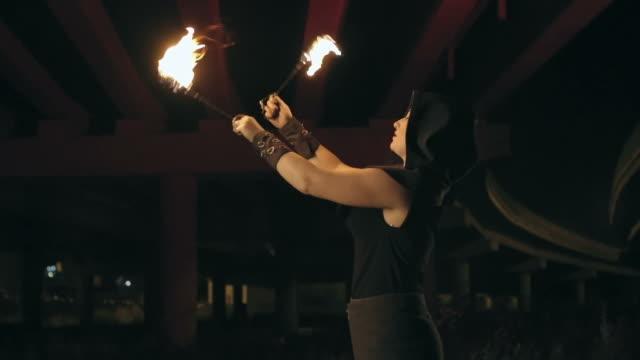 Fire Dancer video