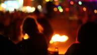 Fire Dancing video