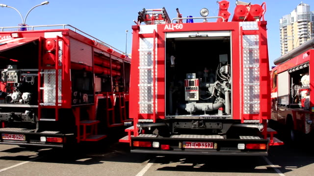 Fire engines video
