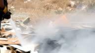 Fire extinguishing video