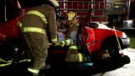 Fire Fighters At Rescue video
