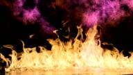 fire flames video