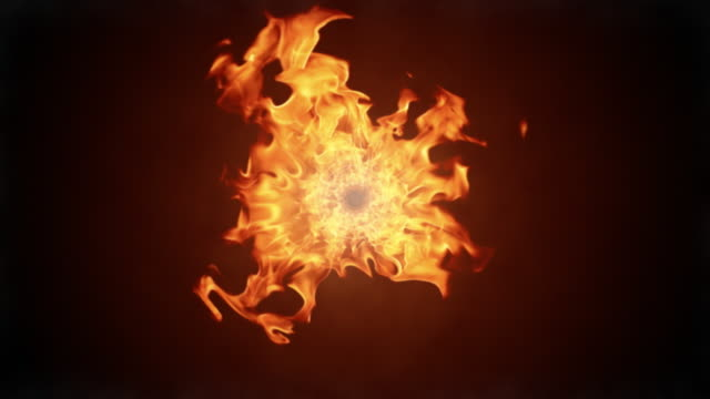 Fire flames video video