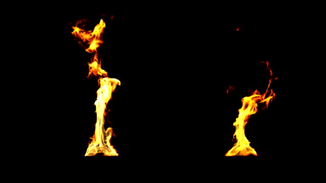 Fire for torches. HD 1080. video