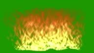 Fire - Green Screen video