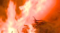 HD: Fire in the night video