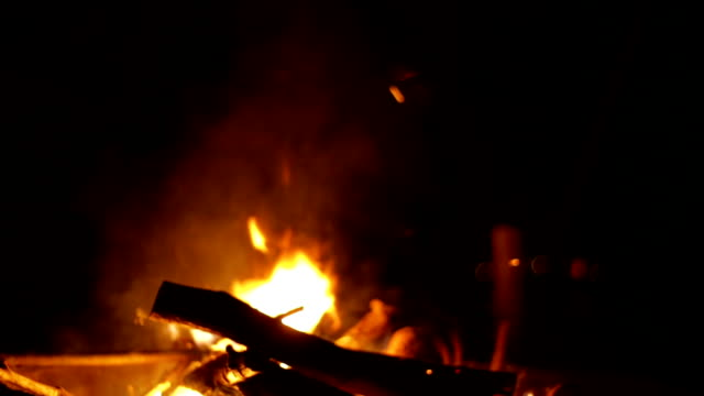 Fire - stock footage video