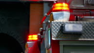 Fire Truck Red Light, Emergency Response, Rescue Symbol video