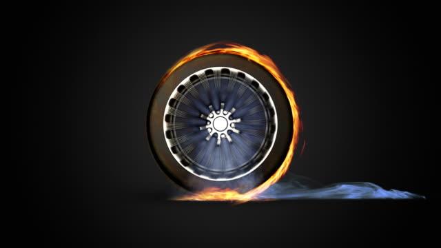 Fire wheel video