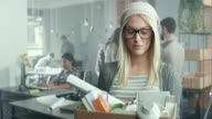 Fired businesswoman video