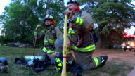 Firefighters at the ready video
