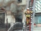 Fireman Up a Ladder video