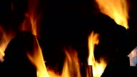 LOOPABLE: Fireplace video
