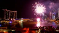 HD Firework at singapore video