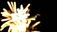 Firework Bokeh Full HD Video video