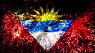 firework display flag of Antigua and Barbuda video