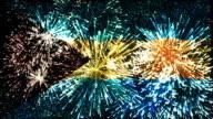 firework display flag of Bahamas video