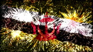 firework display flag of brunei darussalam video