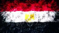 firework display flag of Egypt video