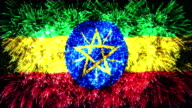 firework display flag of Ethiopia video