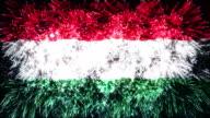 firework display flag of Hungary video