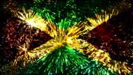 firework display flag of Jamaica video
