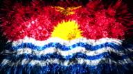 firework display flag of Kiribati video