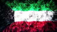 firework display flag of Kuwait video