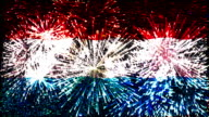 firework display flag of Luxembourg video