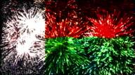 firework display flag of Madagascar video