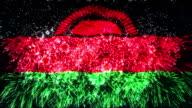 firework display flag of Malawi video
