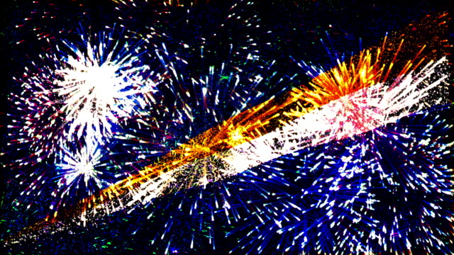 firework display flag of Marshall Islands video
