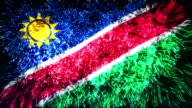 firework display flag of Namibia video