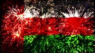firework display flag of Oman video