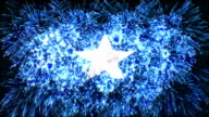 firework display flag of Somalia video