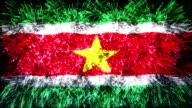 firework display flag of Suriname video