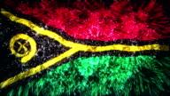firework display flag of Vanuatu video