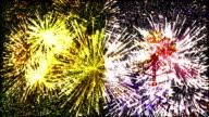 firework display flag of Vatican City video