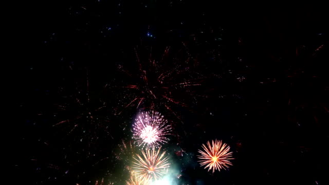 Firework Display, loopable video