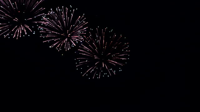 Firework Display video