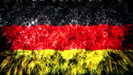 firework flag of germany video
