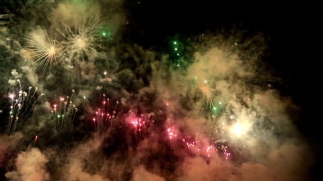 Fireworks at Valencia harbour, Spain July 2017 video