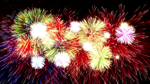 Fireworks Display new year video