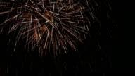 HD: Fireworks Display video