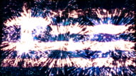 fireworks flag of greece video