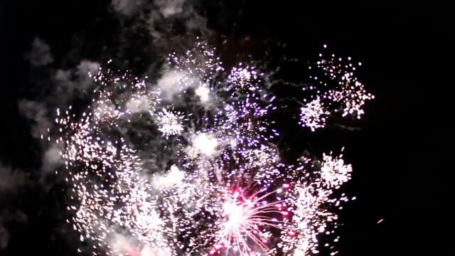 fireworks flare video
